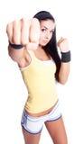 Sportliche Frau Lizenzfreies Stockfoto