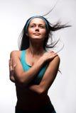 Sportliche Frau stockfoto