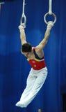 Sportliche Gymnastik Lizenzfreies Stockfoto