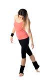 Sportliches Aerobics-Mädchen Lizenzfreie Stockfotos
