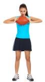 Sportliches junges Mädchen Lizenzfreie Stockbilder