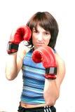 Sportliches Mädchen Lizenzfreies Stockfoto
