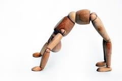 Sportliches Mannequin Stockbild