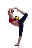 Sportliches Mädchen Stockfotografie
