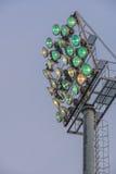 Sportlight im Freien Lizenzfreies Stockfoto
