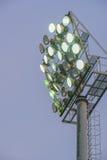 Sportlight im Freien Stockbild