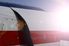 Sportljus-motor flygplan Royaltyfri Foto