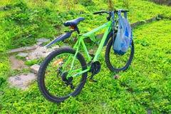 Sportmång--hastighet cykel Arkivbilder