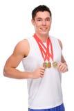 Sportman Royalty-vrije Stock Foto