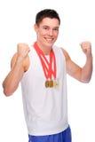 Sportman Royalty-vrije Stock Afbeelding