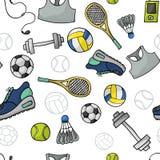 Sportmuster Lizenzfreie Stockbilder