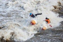 sportowów progu woda Zdjęcie Royalty Free