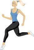Sportowa kobieta Zdjęcie Royalty Free