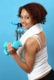 sportowcy, piękna kobieta Obrazy Royalty Free