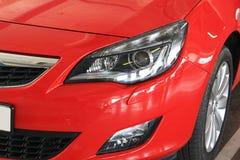 Sportowego samochodu zbliżenia szczegół Obrazy Royalty Free