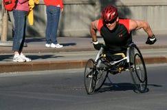 sportowiec maratonu wózek obrazy stock