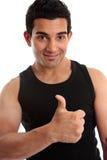 sportowy budowniczego sprawności fizycznej instruktor obraz royalty free