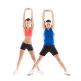 Sportowy mężczyzna i kobieta Zdjęcie Royalty Free
