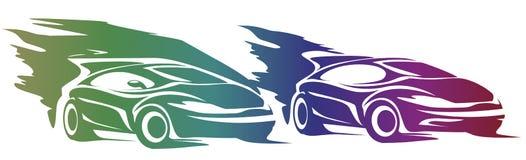 Sportowy samochód Zdjęcie Royalty Free