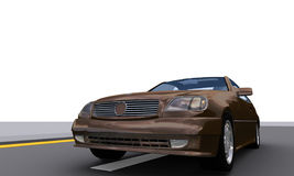 SportPower Auto MercB Stockfoto