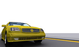 SportPower car MercB. 3D sports car Mercedes Benz Royalty Free Stock Photos