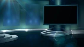 Sportpratprogramuppsättning stock video