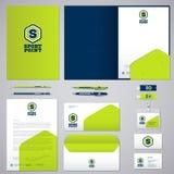 Sportpunktemblem Identitet och logo sportar Övning sportnäring identitet vektor illustrationer