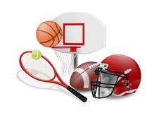 Sports illustration stock
