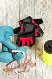 Sports accessories. Stock Photos