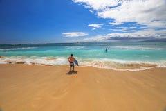 Sports aquatiques Hawaï Photographie stock libre de droits