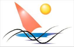 Sports aquatiques, surfant Photos libres de droits