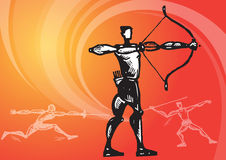 Sports_archery 2 Royalty Free Stock Photo