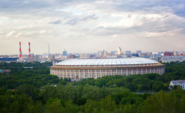 Sports Arena Luzhniki Stadium Royalty Free Stock Photography