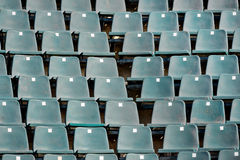Sports arena seats Stock Image