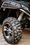 Sports ATV standing on the pavement Royalty Free Stock Photo
