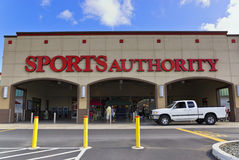Sports authority Stock Image