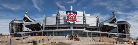 Sports Authority Field Stock Images