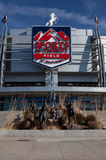 Sports Authority Field in Denver Stock Photos