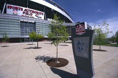 Sports Authority Field. In Denver Colorado Stock Photo