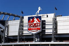 Sports Authority Field at Mile High Stock Photos
