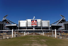 Sports Authority Field at Mile High Stock Image