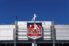 Sports Authority Field at Mile High Stock Images