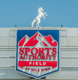 Sports Authority Field at Mile High Royalty Free Stock Photography