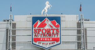 Sports Authority Field at Mile High Royalty Free Stock Photo