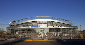 Sports Authority Field at Mile High Stadium in Denver, Royalty Free Stock Images