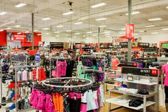 Sports Authority Sporting Goods Royalty Free Stock Images