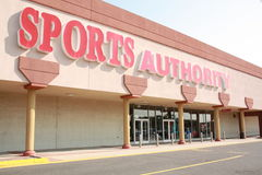 Sports Authority sporting goods Royalty Free Stock Photo