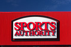 Sports Authority Store Stock Image