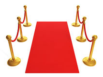 Sports awards. Red Carpet Royalty Free Stock Photo