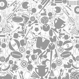 Sports a background. Grey background on a theme sports. A vector illustration Royalty Free Stock Images